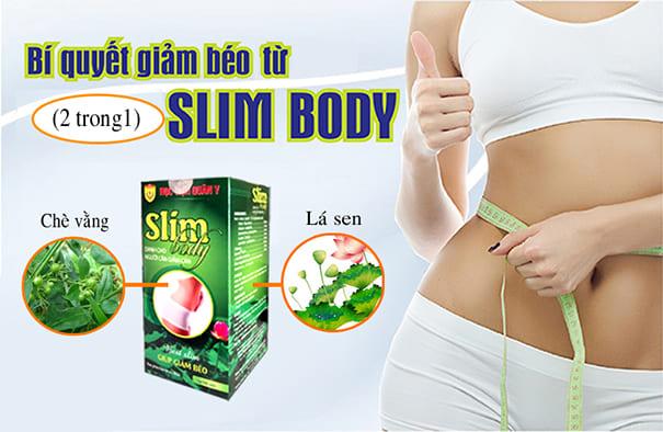 Slim Body Sản Phẩm Giảm Cân Mới Học Viện Quân Y