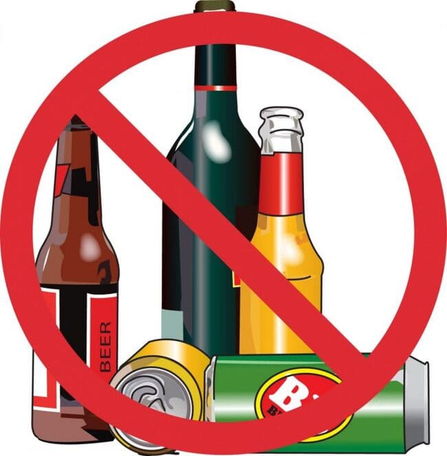 Người bệnh gout không nên uống rượu bia