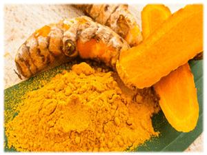 Nghệ tán bột dùng với mật ong ăn chữa đau dạ dày.